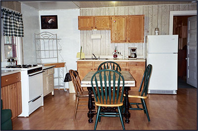 Cabin 4: Kitchen