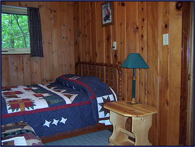 Cabin 5: Bedroom
