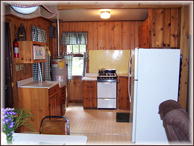 Cabin 5: Kitchen