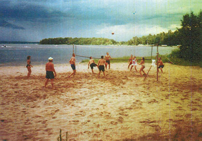 Volley Ball on Pinedale Beach